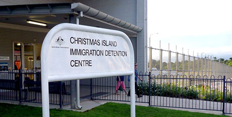 Asylum-seekers who are found to need a medical transfer will first be sent to the Christmas Island detention centre (ABC/Hayden Cooper)