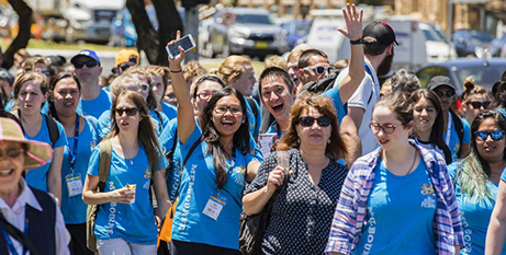 Melbourne youth attend ACYF 2015 in Adelaide (Melbourne Archdiocese)