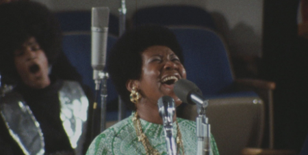 Amazing Grace documents Aretha Franklin recording her 1972 gospel album (IMDB)