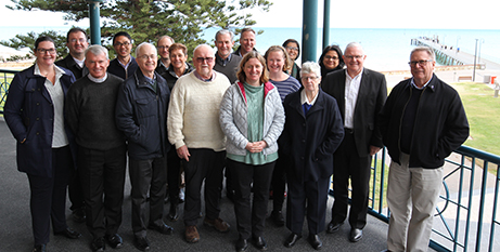 Members of the Plenary Council Executive Committee and the Bishops Commission in Adelaide this week (The Southern Cross)