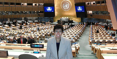 Dr Francesca Di Giovanni at the United Nations (Vatican Media)