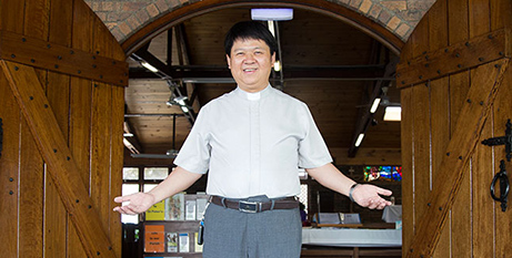 Fr Baiyi Gong (The Catholic Leader/Emilie Ng)