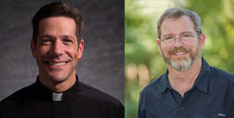 Fr Mike Schmitz and Geoff Cavins believe their Bible podcast is meeting a thirst for the Word of God (Catholic Leader)