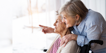 The Government has also committed an additional $320 million for care provided in aged care homes (Bigstock)