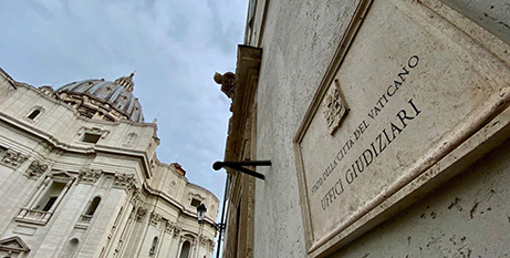 Offices of the Vatican City State judiciary (Vatican News)