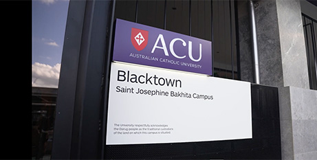 The new campus has been named after St Josephine Bakhita, patron saint for slavery and human trafficking (ACU)