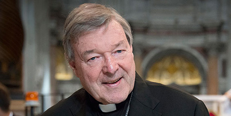 Cardinal George Pell in Rome in 2015 (Fiona Basile)