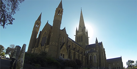 Sacred Heart Cathedral in Bendigo (Sandhurst Diocese)