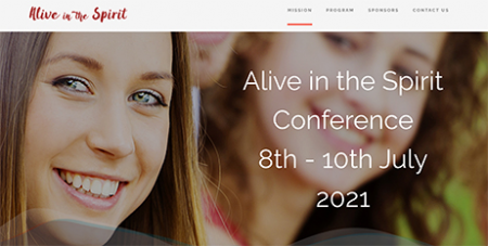The Alive in the Spirit conference will include 30 on-demand workshops (Pastoral Ministry Network)