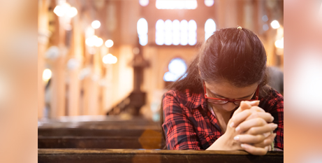 Though attendance rates have declined, the report says most Australians consider themselves as religious or spiritual (Bigstock)