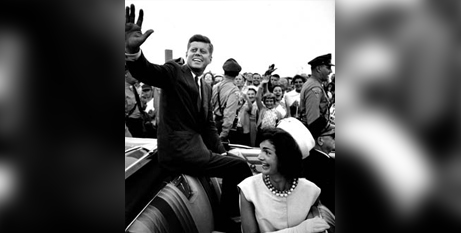 Senator John F Kennedy returns home to Massachusetts after accepting the Democratic nomination in July 1960 (Paul Schutzer/The LIFE Picture Collection/Getty Images)