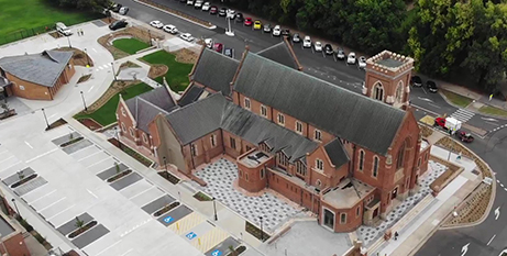The restoration of the Cathedral of St Michael and St John in Bathurst was completed in March (Bathurst Diocese)