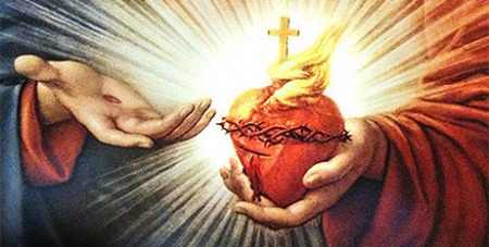 An image of the Sacred Heart of Jesus (Sisters of Saint Joseph)