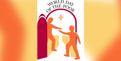 The theme for World Day of the Poor 2020 is 'Stretch forth your hand to the poor' (CNS/Vatican Media)