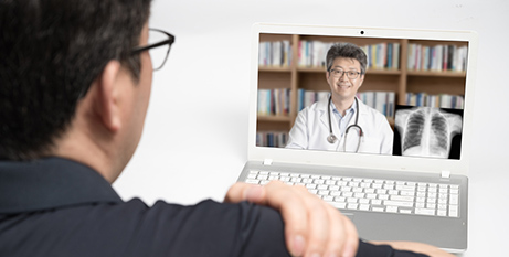 Catholic health providers have reported an increase in telehealth consultations since the pandemic began (Bigstock)