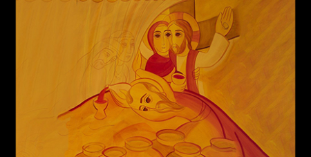 The image was produced by Jesuit theologian and artist Fr Marko Ivan Rupnik (Vatican Media)