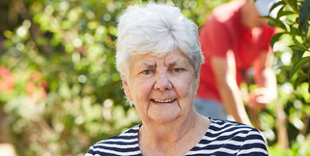 VMCH's affordable housing program offers seniors, such as Ita Holland, access to subsidised rent (VMCH)