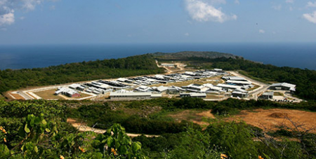 The Christmas Island Immigration Detention Centre (Wikimedia DIAC)