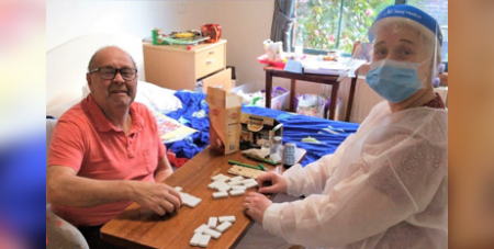 VMCH staff provide residents with activities and support (VMCH)