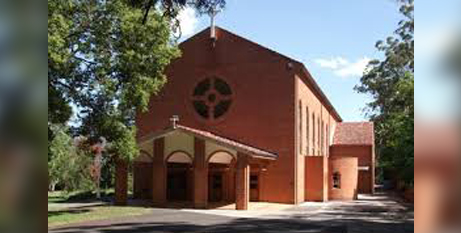 Holy Name Church, Wahroonga (Sydney Male Choir website)
