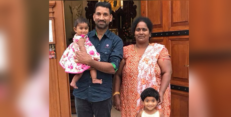 The next hearing for the family of four is set for December 16 (Supplied)