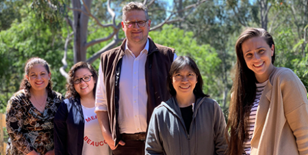 Fr Chris Ryan with Arete Centre 2020 participants (Katherine Ng MGL)