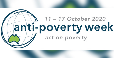 The St Vincent de Paul Society is a sponsor of Anti-Poverty Week