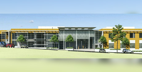 An artist's impression of the new mental health facility due to open at Perth