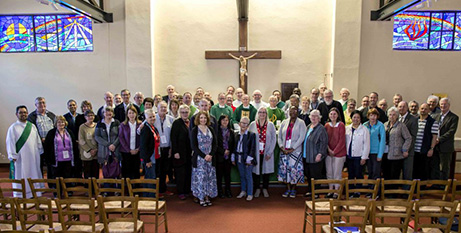 Participants at the 2019 National Association of Deacons Conference Mass (The eRecord/Jamie O'Brien)