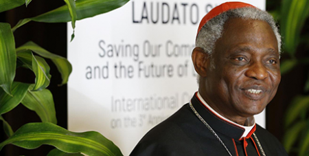 Cardinal Peter Turkson (CNS/Paul Haring)