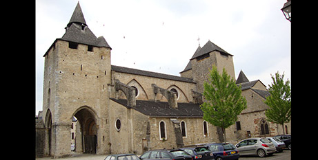 Cathedral Sainte-Marie in Oloron, France (Wikimedia/Havang nl)