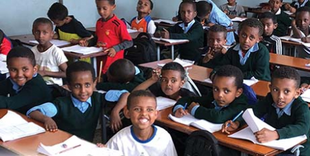 Catholic Mission is partnering with Lideta Catholic Cathedral School in Ethiopia this Christmas (Catholic Mission)