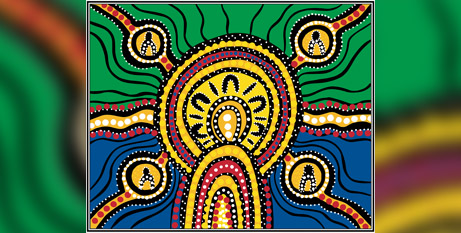 The RAP features artwork by Shara Delaney, a descendant of the Noonuccal, Ngugi and Goenpul clan groups of Quandamooka on the east coast of Brisbane (Brisbane Archdiocese)
