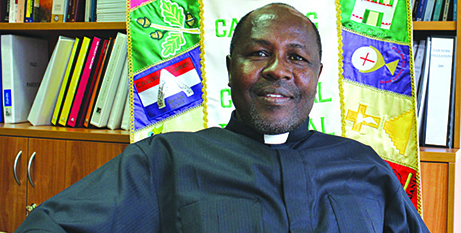 Bishop-Elect Michael Odiwa (The Southern Cross)