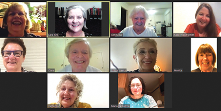 The Archdiocese of Canberra-Goulburn Women's Taskforce met online for a reflection day (Catholic Voice)