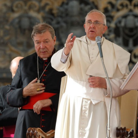The Pope and the Cardinal