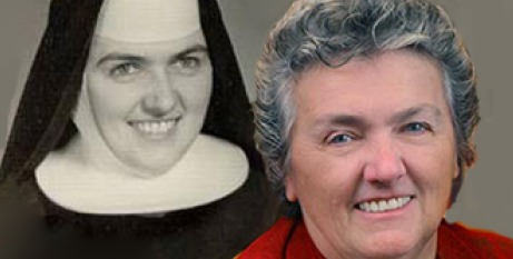 Sr Joan then and now