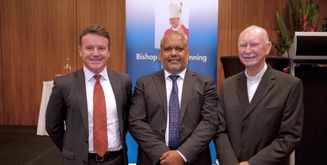 Tony Farley, Noel Pearson and Bishop Manning