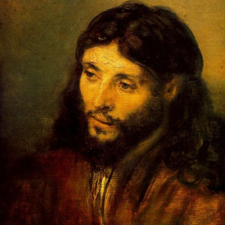 Jewish Christ by Rembrandt