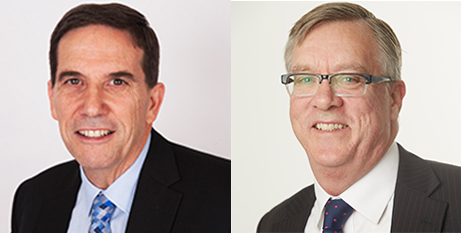 Stephen Teulan and Bradley Prentice (Catholic Healthcare and Southern Cross Care)