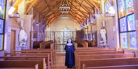 The chapel in the Tyburn Priory at Riverstone (Catholic Outlook)
